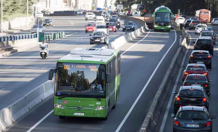 Autobús línea 661 apariciones marianas virgen de los dolores el escorial viajar al escorial