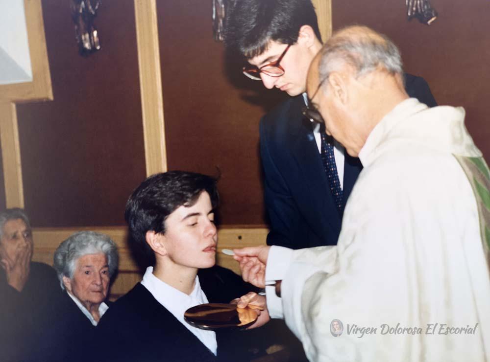 eucaristía misa comunión ángel suquia iglesia