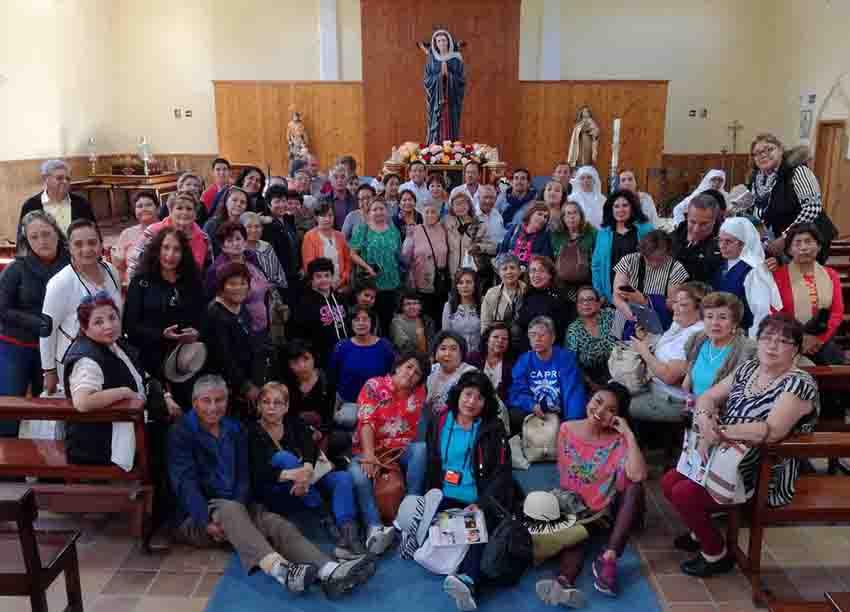 Capilla Ave María prado nuevo peregrinos
